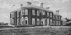 Photo:Front view of Creagh House later to be the 1st sanatorium.